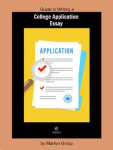 how to write college application essay? Yahoo Answers
